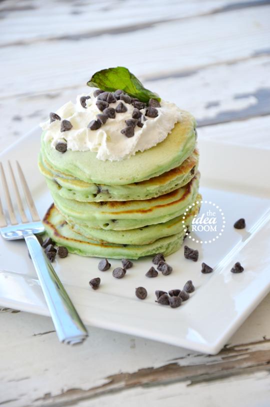 Minty Pancakes