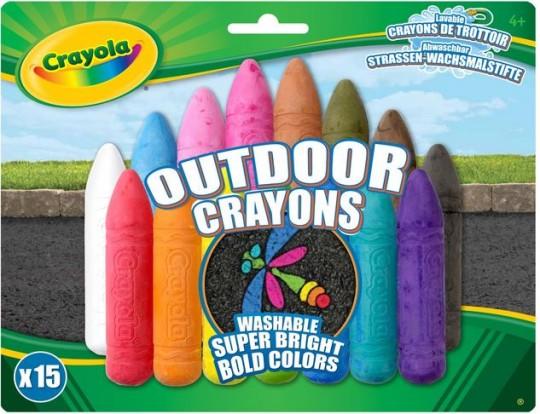 Outdoor Crayons
