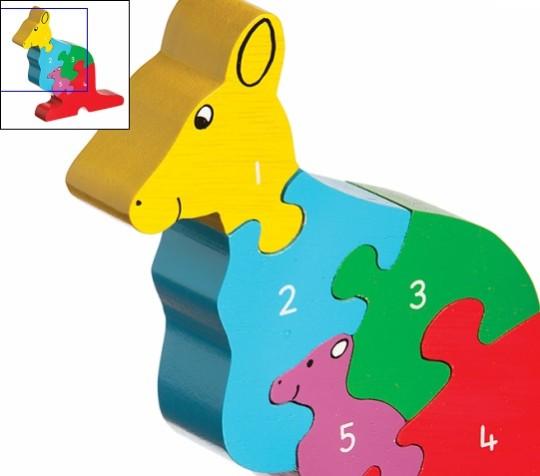 Kangaroo Jigsaw