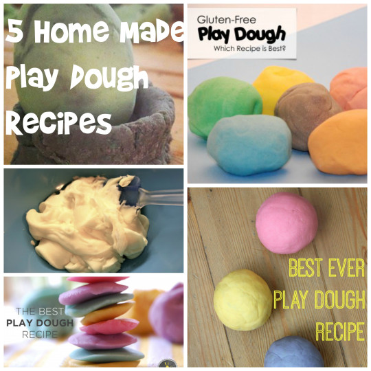 5 DIY Play Dough Recipes