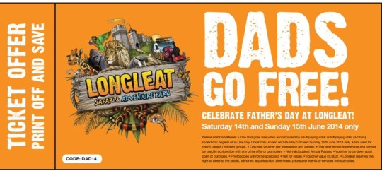 Longleat Father's Day