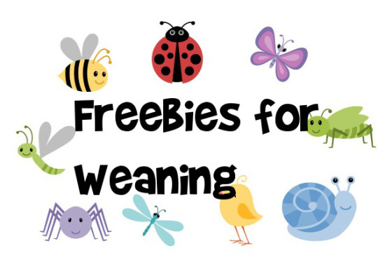 Freebies For Weaning