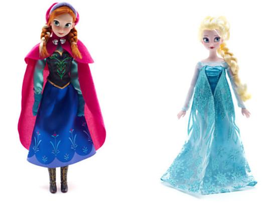 Frozen Anna and Elsa