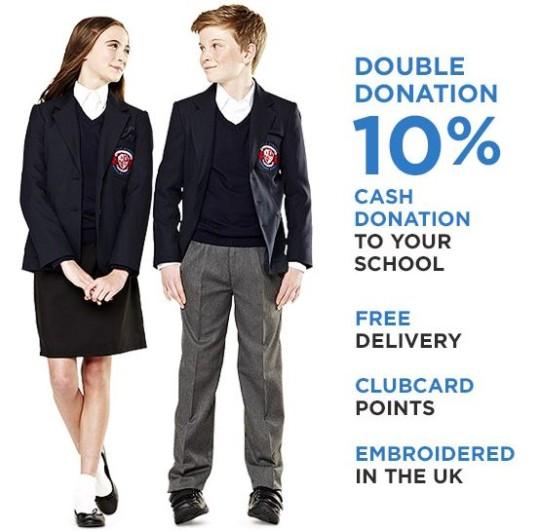 Tesco TU Clothing School Uniforms