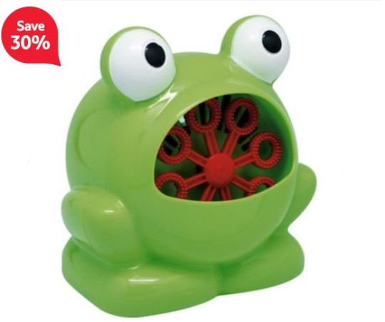 Frog Tesco Bubble Blower