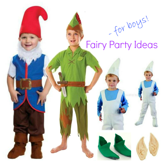 Fairy Party Options For Boyx