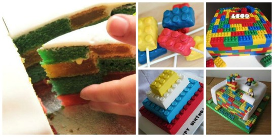 LEGO Party Cakes