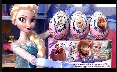 Frozen Chocolate Eggs