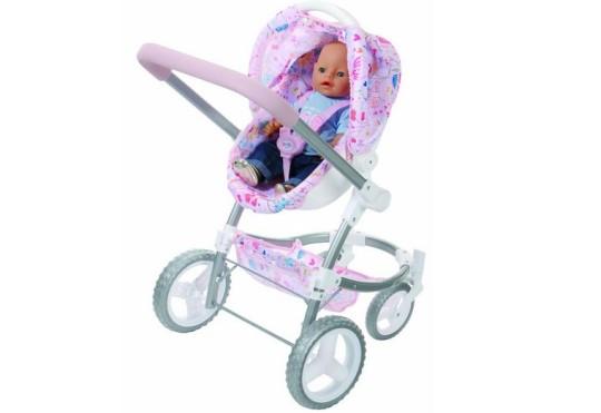 Baby Born 2 In 1 Fashion Pram And Comfort Seat 163 21 84 Amazon