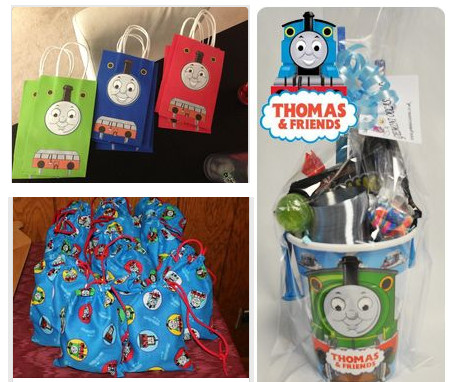 Thomas Tank Party Bags