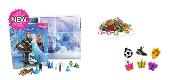 Frozen and Loom Bands Trifecta