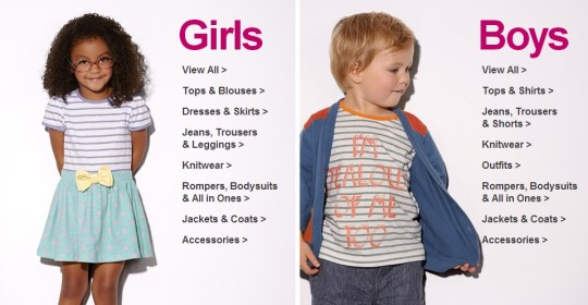 Mamas & Papas Kids Clothes