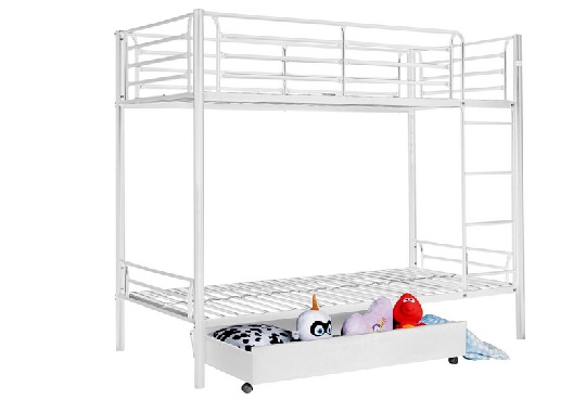 Kenny White Bunk Bed