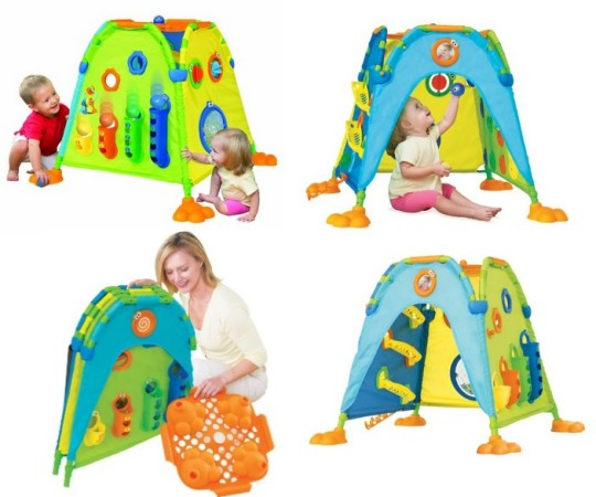 Toy Tomy Play To Learn Discovery Dome Deluxe
