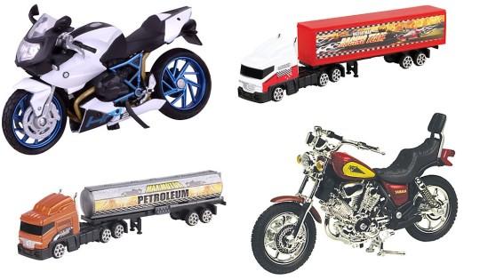 John Lewis Trucks & Motorbikes