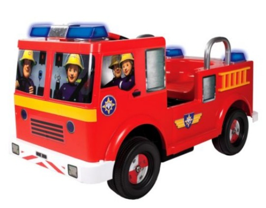 fireman sam battery ride on