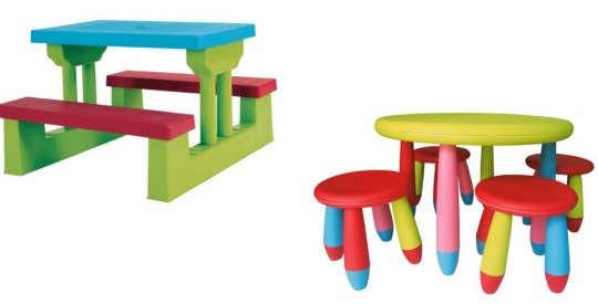 Culcita Children S Table Amp Stools Bench Sets 163 21 00 163 22 50
