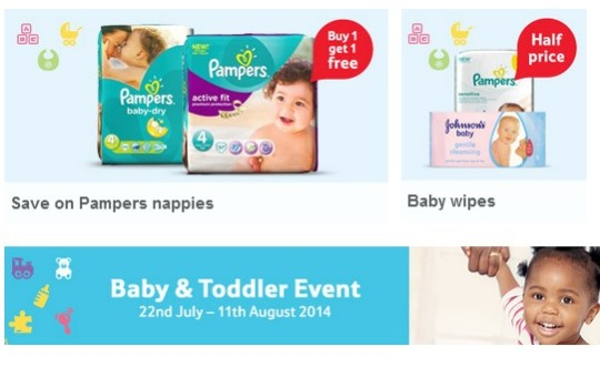Tesco Baby & Toddler Event