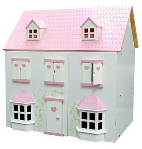 Wooden Dolls House 20 At Asda Direct
