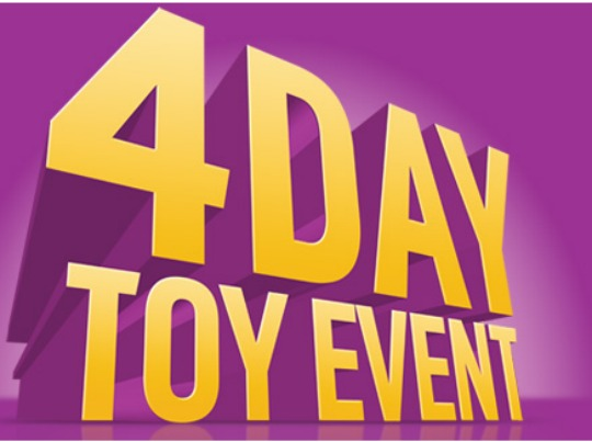 Argos 4 day Toy Event