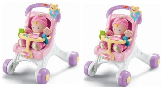 Fisher-Price Brilliant Basics My Stroll & Play Walker