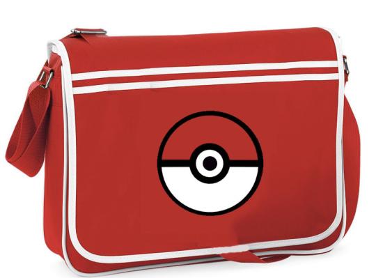 Pokeball Messenger Bag