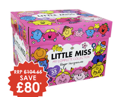 Little Miss box set from The Works