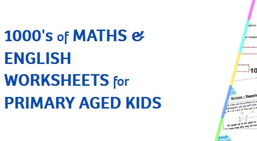 Maths & English worksheets