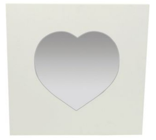 argos heart mirror