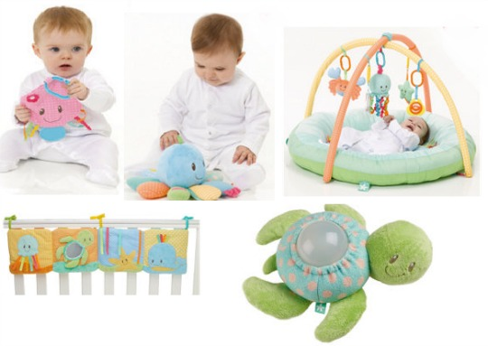 baby ocean toys mothercare