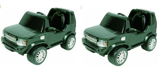 battery operated land rover