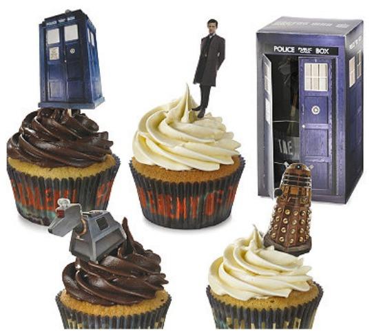 dr who cupcake set