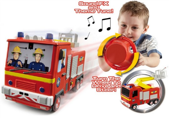fireman sam drive and steer