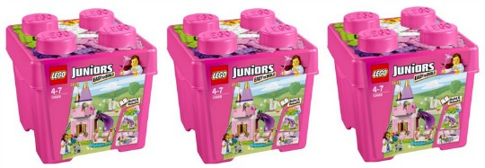 lego junior pink box