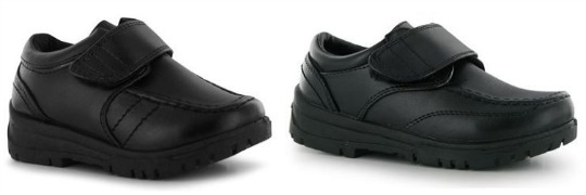 Black School Shoes From £4 @ Sports Direct