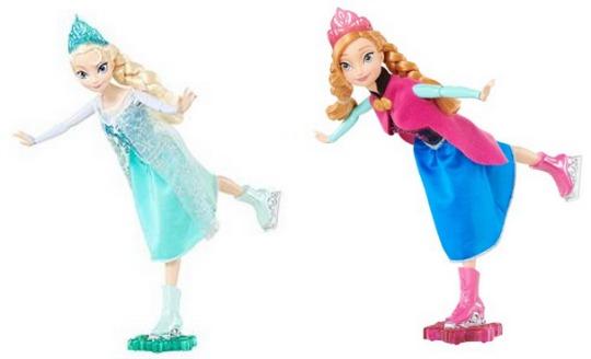 Anna Elsa Skating dolls