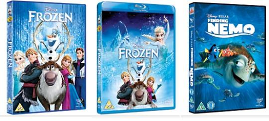 BOGOF DVD Disney Store