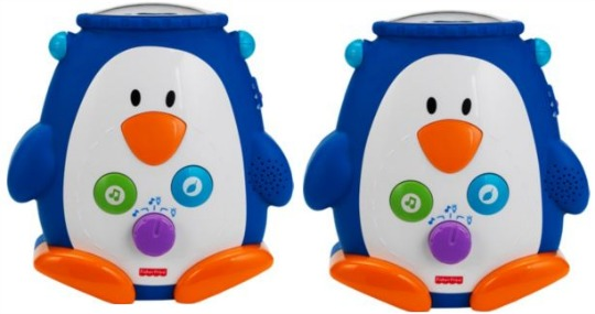 Fisher Price penguin discover and grow soother