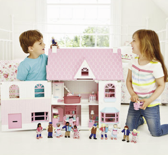 Mothercare Rosebud Doll's House