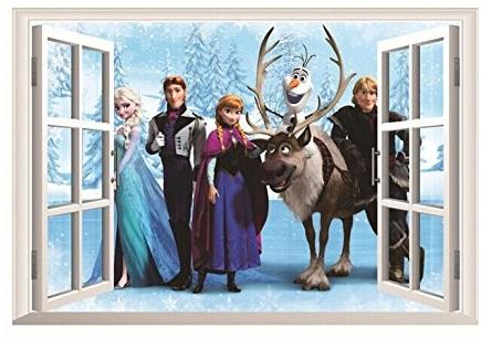 Frozen Wall Sticker