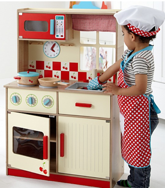 George Home Deluxe Wooden Kitchen £40 @ Asda Direct