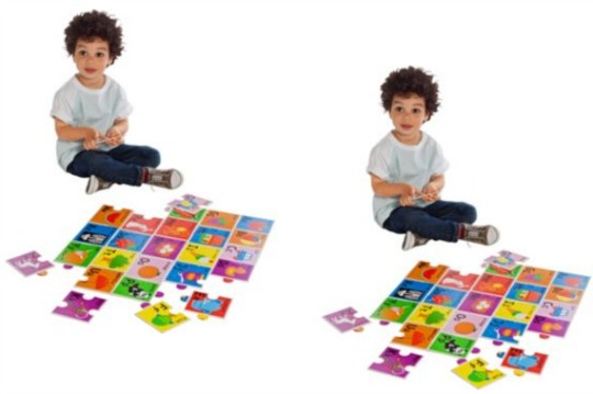chad valley alphabet floor puzzle
