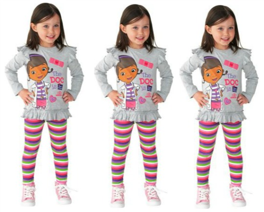 doc mcstuffins leggings set