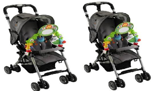 fisher price rainforest pushchair toy
