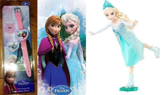 frozen instore