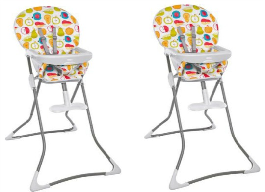 graco fruit sald high chair