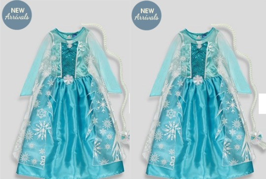disney 39 s frozen elsa dress outfit with code matalan