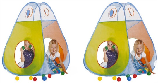 play tent and balls
