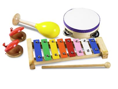 Little Tikes Wooden Musical Box Set