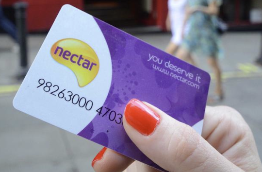 Sainsburys Nectar Card Points